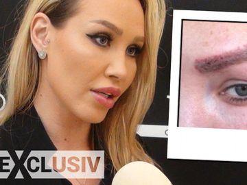 Raluca Podea isi face implant de par la sprancene! Blonda se coloreaza cu marker-ul ca sa poata iesi din casa dupa ce a acuzat-o pe Maria Pauna ca i-ar fi facut un tatuaj oribil – Video Exclusiv!
