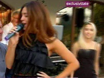 Claudia Cream a facut spectacol acasa la Cristian Tantareanu, de ziua lui de nastere