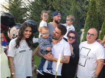 Fotografii inedite de la petrecerea data de Adrian Mutu la aniversarea de un an a fiului sau, Tiago! FOTO