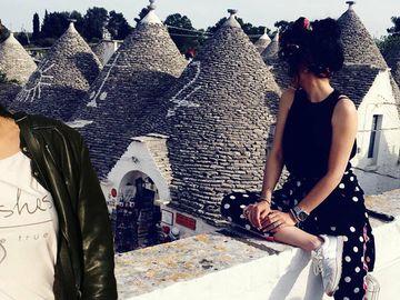 Doinita Oancea, vacanta de vis in sudul Italiei. Actrita a vizitat cea de-a doua asezare omeneasca din lume!