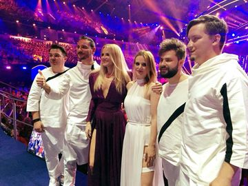 EUROVISION 2018. Ce a aparut pe pagina de Facebook Eurovision Romania dupa ce The Humans au ratat CALIFICAREA in finala