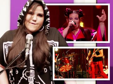 Eurovision 2018: Netta, marea castigatoare, suspecta de plagiat! Potrivire incredibila cu o piesa rock