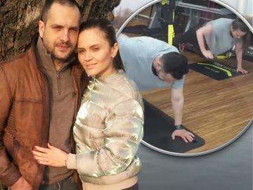 Cristina Siscanu si Madalin Ionescu s-au apucat de fitness!