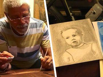 Celebrul actor Gheorghe Visu ascunde o mare surpriza in atelierul lui de pictura FOTO