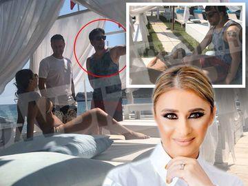 Surpriza uriasa! Cu ce barbat misterios s-a afisat Anamaria Prodan pe plaja din Grecia! Culmea, Reghe era la doar cativa metri distanta