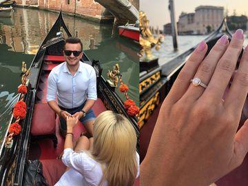 """S-au cunoscut în urmă cu 5 luni, iar acum a avut parte de surpriza vieţii ei, a spus """"DA"""", la Veneţia! Povestea inedită de iubire a unei artiste de la noi"""