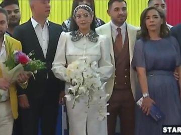 Betty Stoian si Catalin Visanescu s-au casatorit! Florin Salam, alaturi de fiica lui la Starea Civila