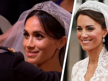 De ce i s-a interzis lui Kate sa poarte bijuteriile Printesei Diana? Meghan Markle e de vina!
