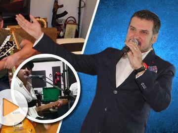 """Adi de la Valcea se lasa de manele si se apuca de rock si blues: """"Puteam sa cant din prima rock, dar la mine-n frigider ar fi fost mult loc""""  VIDEO"""