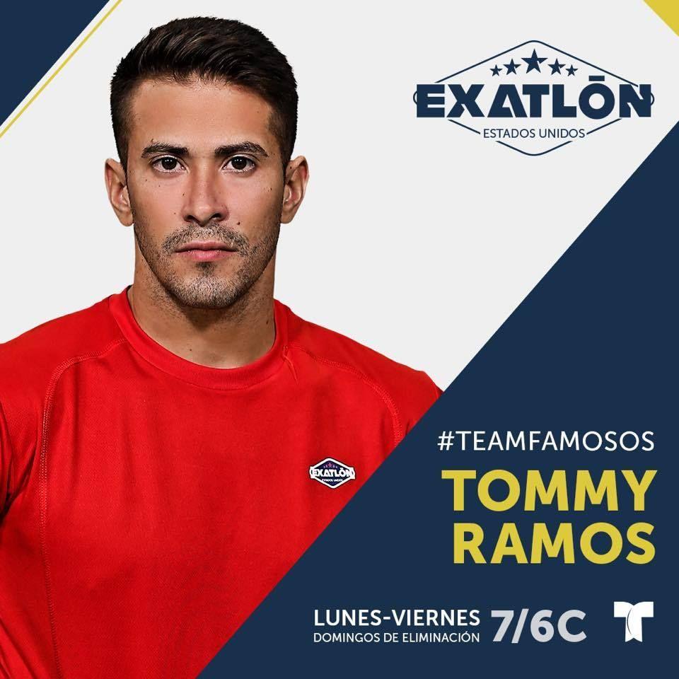 Fostul iubit al Catalinei Ponor a intrat la Exatlon in echipa faimosilor! Tommy Ramos a ajuns deja in Republica Dominicana