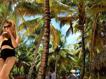 Cantareata favorita a lui Gigi Becali si-a facut de cap in vacanta! Diana Bisinicu si sotul ei au mers in Republica Dominicana