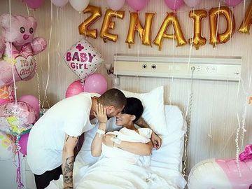 Adelina Pestritu e topita dupa fetita ei! A pozat-o dormind si... Detaliul care le-a atras atentia tuturor