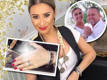 Anamaria Prodan a dat o avere pe husa cu aur si platina a telefonului! Vezi cum si-a personalizat smartphone-ul sotia lui Laurentiu Reghecampf!
