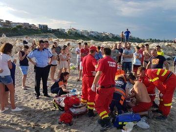 Tanar inecat pe plaja Modern! Ce bilet au gasit politistii in buzunarul victimei