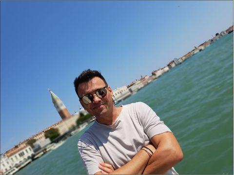 Dan de la Fly Project, escapada de vis la Venetia. Uite cum arata sotia artistului, dar si fiul lor adorabil. FOTO EXCLUSIV