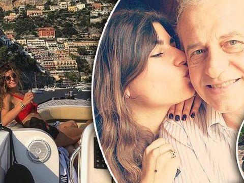 Fiica lui Mircea Geoana se plimba cu iahtul in Italia! Vezi imagini din vacanta de lux a Anei!