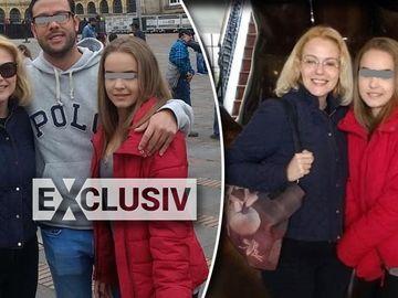 La o luna de la moartea lui Marius Ancuta, Raluca Moianu si fata ei, Ilinca, au plecat in Columbia! FOTO EXCLUSIV