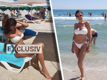 """Cristina Spatar nu se mai ascunde! Cum a pozat """"Regina R&B-ului"""", la malul marii! Fotografii INCENDIARE"""