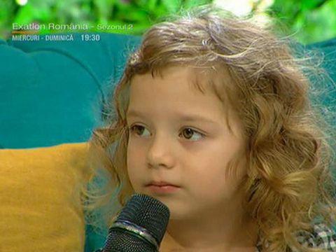 Marius Mihalache are o minune de fetita! Emily a povestit cum fratele ei mai mare i-a spart capul in Grecia