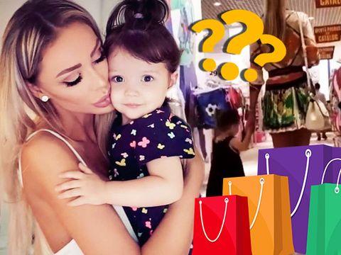 La ce renunta Bianca Dragusanu cand merge la shopping cu fiica ei