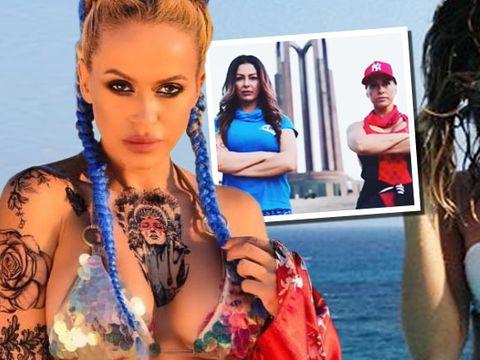 Foste rivale la Exatlon, Alina Pana si Anda Adam, infruntare cu public Video