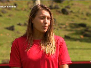 """Exatlon 8 septembrie. Monica Rosu, probleme de sanatate. Cosmin Cernat, despre gimnasta: """"Nu vreau sa ii ingrijoram pe cei de acasa..."""""""