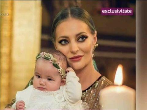 """Sora Deliei Matache, declaratii despre fetita ei: """"Jessie nu mai plange de la doua luni"""""""