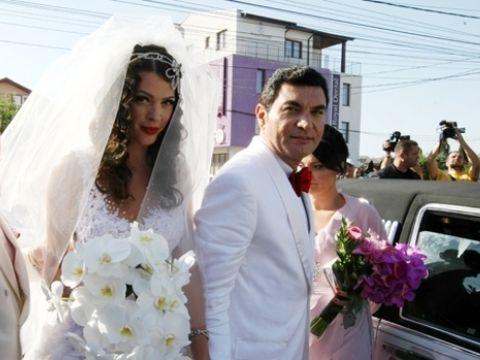 Suma fabuloasa pe care a strans-o Cristi Borcea la nunta cu Alina Vidican! Nasul Gigi Becali a dezvaluit tot