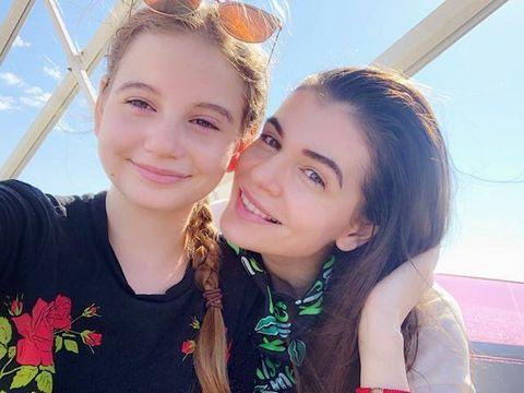 """Fiica Monicai Gabor a povestit despre operatia pe care a suferit-o! """"Vedeam foarte multe culori in ochi"""""""