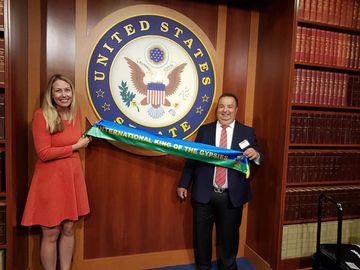 """Dorin Cioaba a facut marele anunt dupa vizita la Washington: """"Sper ca anul viitor sa am o intalnire cu Donald Trump!"""""""