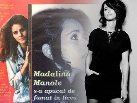 """Madalina Manole a luat Bacalaureatul dupa ce a copiat la matematica! """"Fata cu parul de foc"""" a fost o liceanca nonconformista: """"Eu am fost cea care a dat tonul la fumat printre fete"""""""