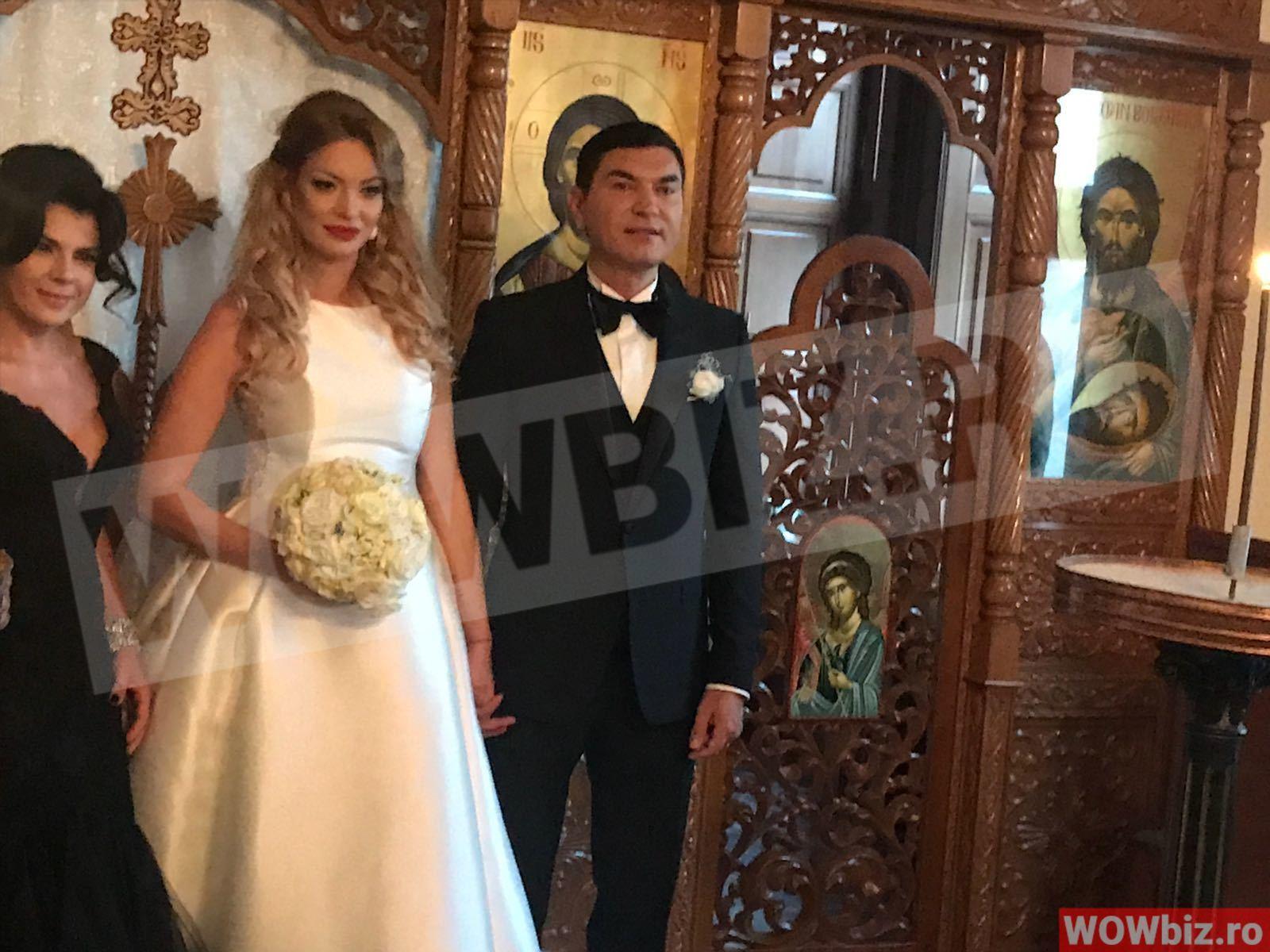 Primele Imagini De La Nunta Lui Cristi Borcea Cu Valentina Pelinel
