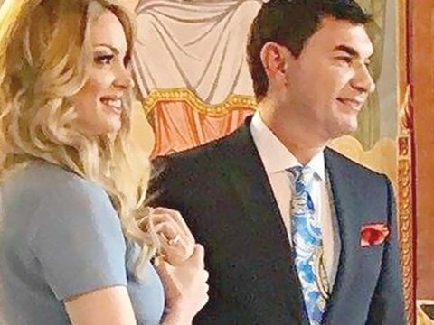 Nunta lui Cristi Borcea cu Valentina Pelinel. Cine sunt primii invitati care au sosit la biserica