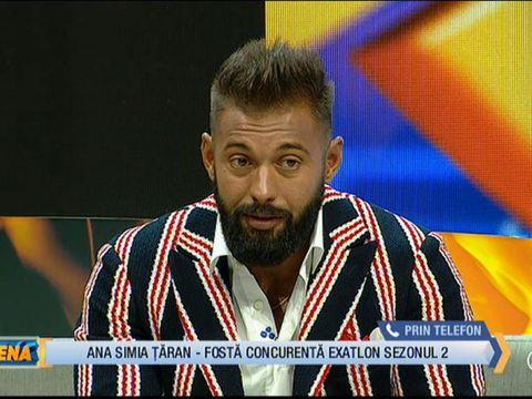 """Ana Simia Ţăran a cerut să intre în direct la FanArena! Ce reproşuri are la adresa lui Cătălin, fostul său coleg de competiţie: """"Să-mi spună şi mie domnul poliţist..."""""""