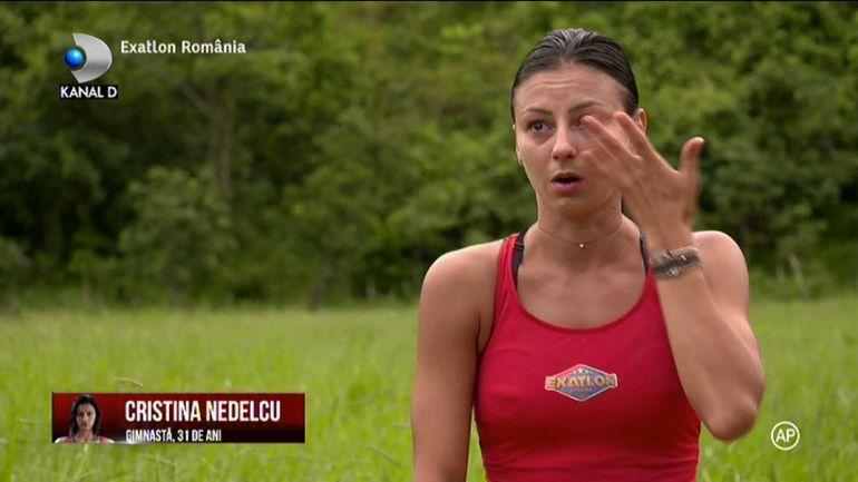 Exatlon 12 octombrie. Cristina, în lacrimi! Faimoasa a cedat în timpul jocului