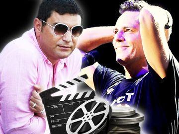 """Cristi Borcea vrea ca Ştefan Bănică Jr să joace în filmul despre viaţa sa: """"Tot e el dinamovist!"""""""