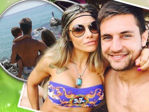 Cea mai mare dorinţă a tricolorului Ciprian Tătăruşanu s-a indeplinit. Indragitul sportiv va avea o fetita. Vezi cat de sexy este iubita fotbalistului. FOTO!