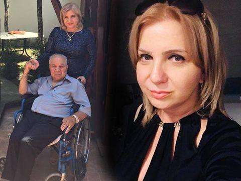 Drama din viaţa lui Carmen Şerban! Cântăreaţa şi-a internat tatăl paralizat! Acum câţiva ani, bătrânul nu-şi putea mişca decât ochii şi buzele!