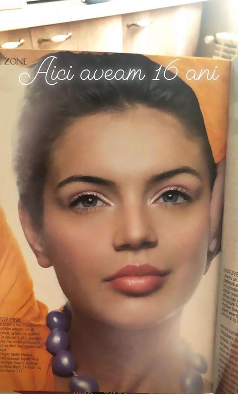 Acum e una dintre cele mai frumoase românce, dar uite cum arăta Cristina Ich la 16 ani! Nu ţi-ai fi imaginat-o niciodată aşa