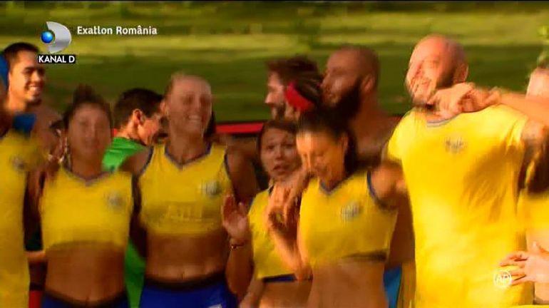 Exatlon 19 octombrie. România a învins Mexic! Gestul superb făcut de Giani Kiriţă pentru mexicani