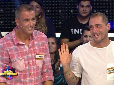 """Vladimir Drăghia şi Cosmin Cernat au pierdut toţi banii câştigaţi la """"Roata Norocului"""": """"Ajungem la sapă de lemn"""" VIDEO EXCLUSIV"""