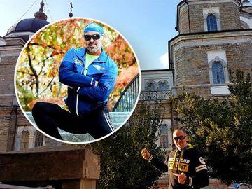 Călin Novăcescu de la Exatlon s-a dus să se roage la Muntele Athos! Războinicul şi-a făcut semnul crucii în şalupa care l-a dus la destinaţie! VIDEO