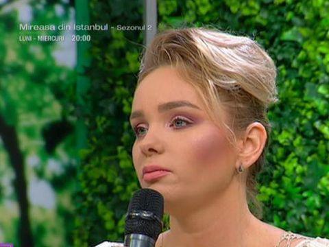 """Prima apariţie la TV a Mariei Constantin după ce s-a aflat că se iubeşte cu Dacian Varga! """"Sunt foarte fericită!"""" - """"Ea este muza mea şi îi mulţumesc"""""""