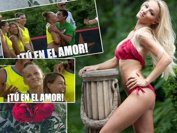 Amor, amor, la Exatlon! Beatrice Olaru, sărutată de un fotbalist mexican! Avem primele imagini!
