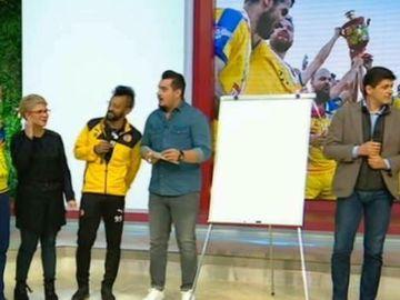 Meci important pentru Naţionala Artiştilor Fotbalişti! Adrian Enache şi Kamara, faţă în faţă cu Hagi, Gică Popescu şi alţi grei ai fotbalului