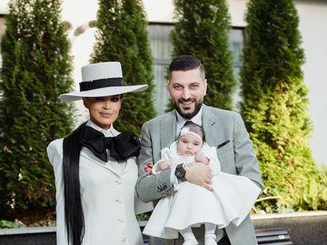 Adelina Pestritu a sarbatorit cu o petrecere de poveste botezul micutei Zenaida Maria