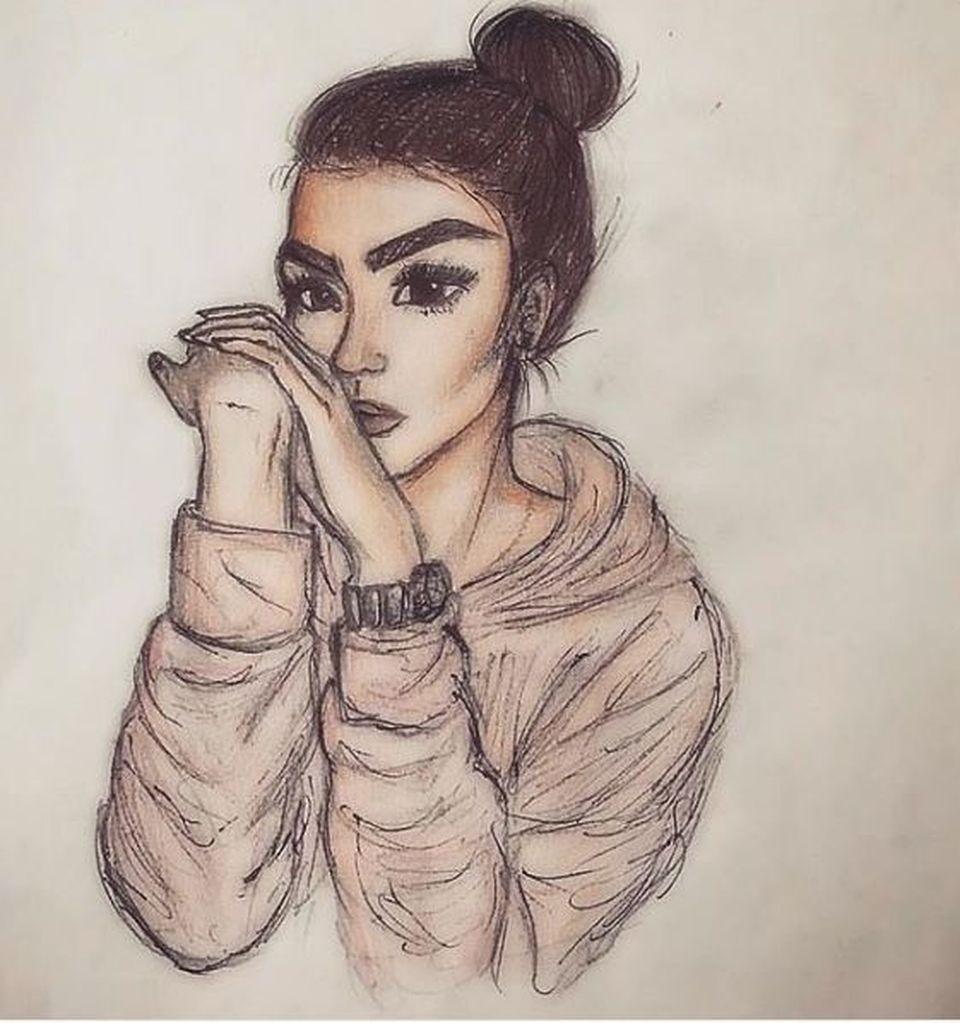 Un admirator a desenat portretul fiicei lui Giani Kiriţă! Uite cum arată tabloul cu Roxana!
