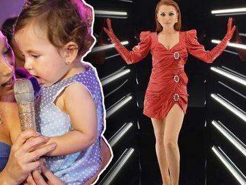Uite cum arată acum fetiţa îndrăgitei Elena Gheorghe. E o păpuşă cu chip angelic şi obrăjori bucălaţi.