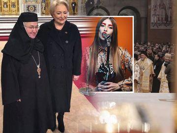 Viorica Dăncilă, taxată DUR pentru ţinuta purtată la sfinţirea Catedralei Neamului. Uite cum s-a îmbrăcat şi de ce criticat-o Iulia Albu. FOTO!