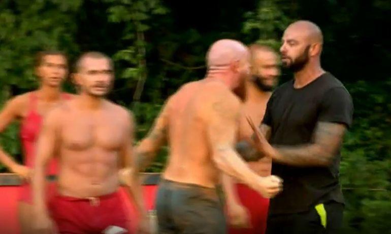 Exatlon 30 noiembrie. Momente extrem de tensionate! Giani Kiriţă se împinge violent cu Doru Meseşan!
